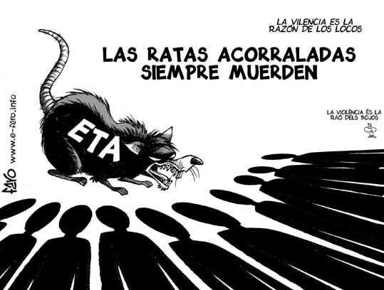 ETA, una rata en actividad permanente