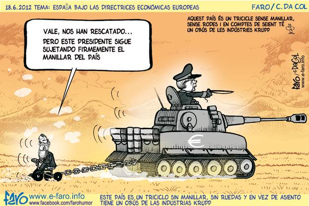 120618.tanque.Merkel.Rajoy.europa% - humor en la red