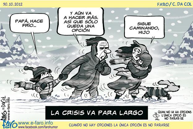 Miercoles, frio? tomá café en el bar..-http://www.e-faro.info/Imagenes/CHISTES/WChmes02/Acudits2012/121030.frio.familia.crisis.nieve.seguir.caminando.jpg