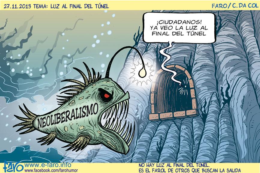 131127.pez.abisal.neoliberalismo.luz.final.del.tunel% - Humor salmón