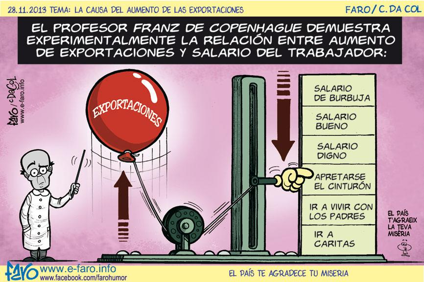 131128.franz.copenhage.salario.trabajador.exportacion% - Humor salmón