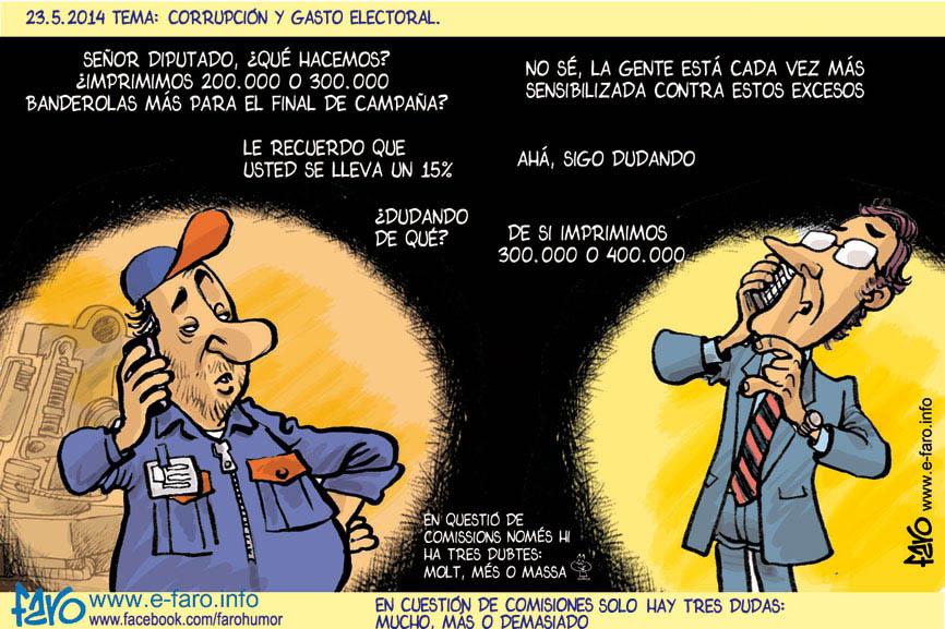 140523.FB.diputado.presupuesto.electoral.comision.corrupcion.ok% - Humor salmón