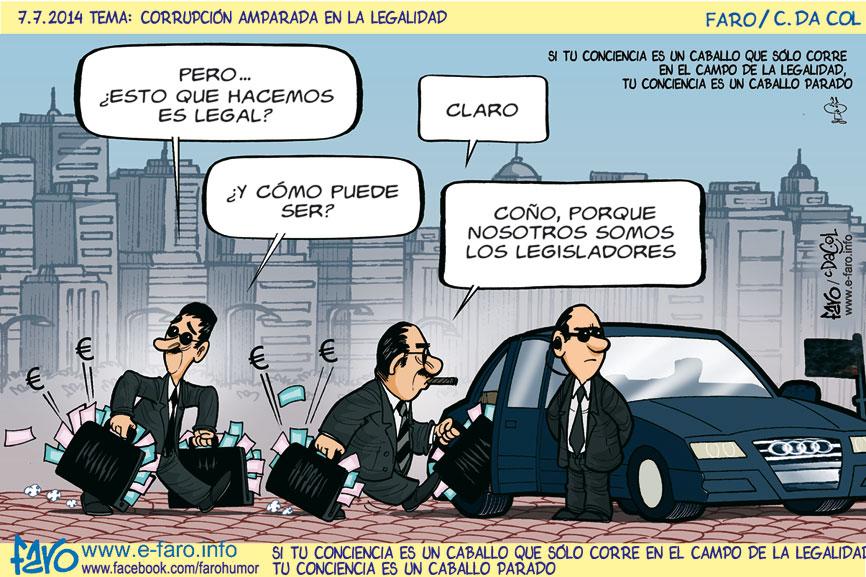 140707.FB-politica-corrupcion-coche-dinero-maletines-ley-leyes-legalidad% - Humor salmón