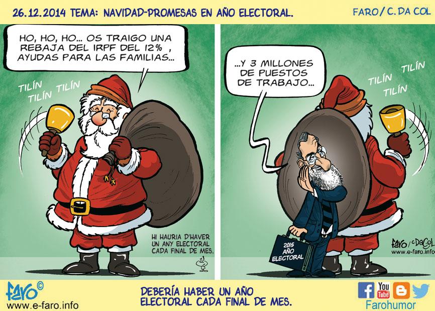 141226-FB-papa-noel-santa-claus-navidad-rajoy-regalos-rebaja-impuestos-ano-electoral% - Humor salmón